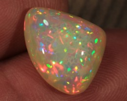 5.10CT~BRILLIANT 5/5 WELO OPAL CAB~MICRO HONEYCOMB