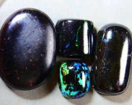 16.20 Ct INDONESIAN POLISHED NATURAL WOOD FOSSIL OPAL PARCEL