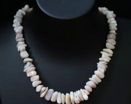 240Cts FGrey Coober Pedy strand beads QOM1707