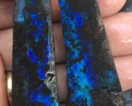 265 Cts Plus Bonus  split pair Opalton Boulder   opal rough MMR2257