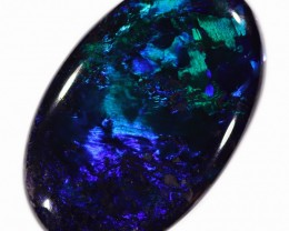 Black Lighting Ridge Opal 4.1 Ct 16x11x4mm LRBO501