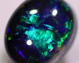 Black Lighting Ridge Opal 1.1 Ct 6X5X4 mm LRBO510