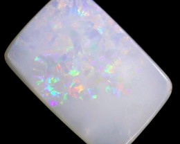 4.6 cts 17x11x3 mm Coober pedy white opal stone CPO501