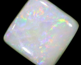 1.4 cts 8x8x2 mm Coober pedy white opal stone CPO522