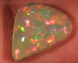 3.07ct~DARK BASE WELO OPAL~NATURAL/SATURATED~5/5~PUZZLE