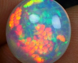PERFECT 3.70cts BUBBLE HONEYCOMB Natural Ethiopian Welo Opal