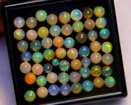 NR Auction ~ 18.32ct Round 5mm Welo Opal Parcel Lot