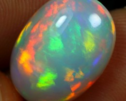 4.80cts Top 5/5 Brush Rainbow Fire Ethiopian Opal