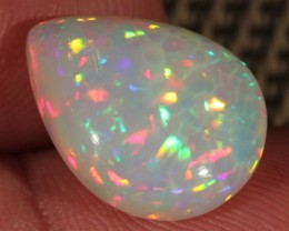 6.55CT~BRILLIANT 5/5 WELO OPAL CAB~HONEYCOMB/RAINBOW PRISM