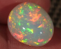 8.58CT~BRILLIANT 5/5 WELO OPAL CAB~FULL SATURATION