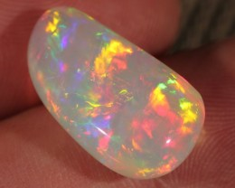 9.82CT~BRILLIANT 5/5 WELO OPAL CAB~PEARLESCENT FIRE