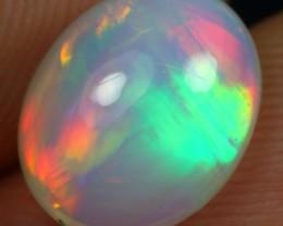 AAA 2.00cts Chaff Fire Pattern Ethiopian Opal