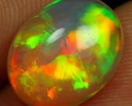 AAA 3.25cts Neon Cascade Pattern Ethiopian Opal