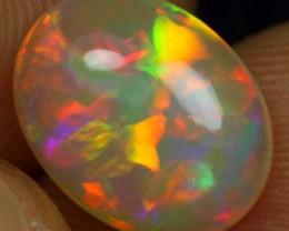 2.20cts Elegant Neon Flagstone Ethiopian Opal