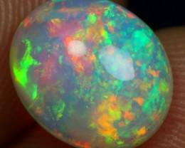 AAA 2.40cts Galaxy Pin Fire Ethiopian Opal