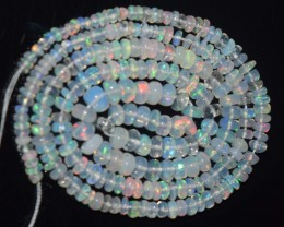 29.10 Ct Natural Ethiopian Welo Opal Beads Play Of Color
