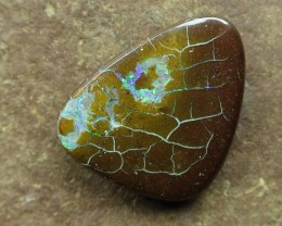 "11cts.""BOULDER MATRIX OPAL~NO MIDDLE MAN"""