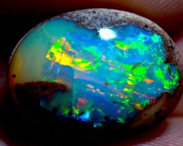 13.32ct Blue Stunning Mexican Opal Specimen ! Wirewrap Ready