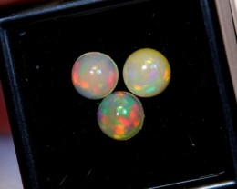 NR Auction ~ 1.69ct Round 6mm Welo Opal Parcel Lot