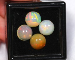 NR Auction ~ 5.64ct Round 8mm Welo Opal Parcel Lot