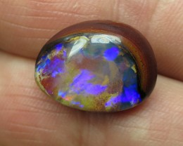"18cts.""YOWAH NUT OPAL~UNIQUE FLASH"""