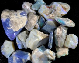 317.80 CTS GAMBLE  COLOURFUL ROUGH PARCEL FROM LIGHTNING RIDGE[BR6014]