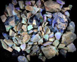 901.30 CTS GAMBLE  COLOURFUL ROUGH PARCEL FROM LIGHTNING RIDGE[BR6019]