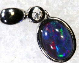 5 CTS SILVER OPAL PENDANT OF-2166