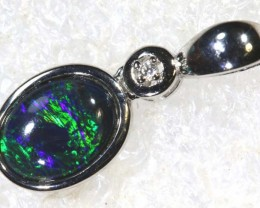5 CTS SILVER OPAL PENDANT OF-2169