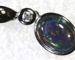 5 CTS SILVER OPAL PENDANT OF-2170
