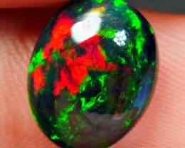 3.20 CRT SMOKED 3D BRILLIANT BROADFLASH FLORAL PATTERN WELO OPAL