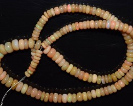 74.10 Ct Natural Ethiopian Welo Opal Beads Play Of Color