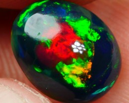 1.70 CRT VERY DELUXE FLAGSTONE NEON MULTICOLOR SMOKED WELO OPAL