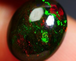 2.60 CRT 3D BEAUTY FLORAL PATTERN PLAY COLOR SMOKED WELO OPAL