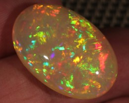 20.49CT~BRILLIANT 5/5 WELO OPAL CAB~FULL SATURATION