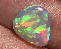 Brilliant 5/5 Ribbon/Layered Mix Patterns Welo Ethiopia Opal Cab.