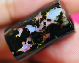13.85 CRT WOOD OPAL BEAUTY FLASH COLOR INDONESIAN OPAL