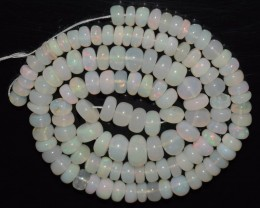 84.50 Ct Natural Ethiopian Welo Opal Beads Play Of Color