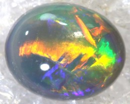 N4-1.15 CTS  BLACK OPAL POLISHED STONE TBO-7869