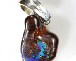 25.40 CTS BOULDER OPAL NUGGET -WITH PEARL ENHANCER[SOJ6258]