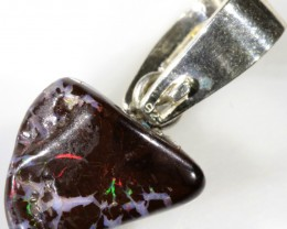 19.55 CTS BOULDER OPAL NUGGET -WITH PEARL ENHANCER[SOJ6261]