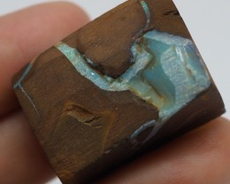 100.90CT VIEW ROUGH QUEENSLAND BOULDER OPAL RR39