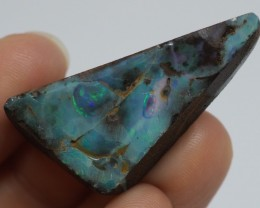 37.95CT VIEW ROUGH QUEENSLAND BOULDER OPAL R28