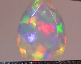 1.65 ct Stunning Gem Rainbow Welo Facet