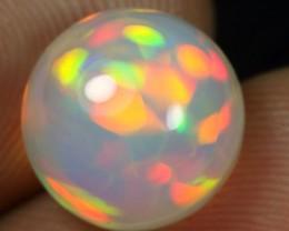 AAA Grade 5.05cts Rainbow Brush Stroke Honeycomb Ethiopian Opal