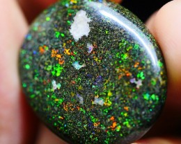 20.60 CRT PERFECT AMAZING PIN FIRE FULL COLOR INDONESIAN OPAL STONE