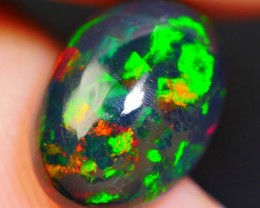 2.75 CRT GORGEOUS 3D SPIDER WEB BROADFLASH PATTERN SMOKED WELO OPAL