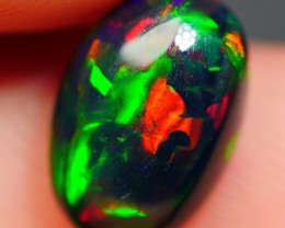 1.25 CRT BEAUTY BRIGHT FLAGSTONE PATTERN PLAY COLOR SMOKED WELO OPAL