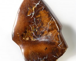 158.10 CTS BOULDER OPAL CARVING [BMA4505]