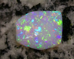 5.43ct EXTREEM BRIGHT FULLY SATURATED 2-SIDED CRYSTAL OPAL
